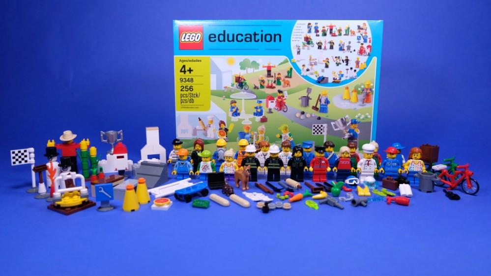 LEGO Education 9348 Community Minifigure Set review