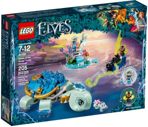 LEGO Elves 41191 Naida & The Water Turtle Ambush