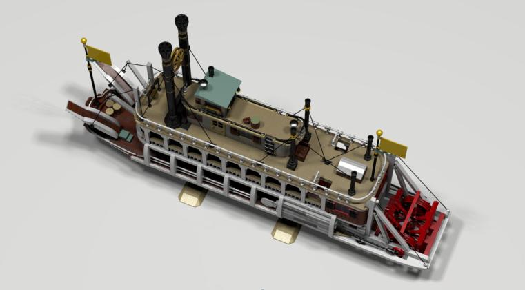 LEGO Ideas Western River Steam Boat