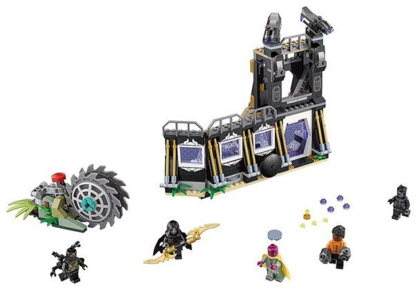 LEGO Marvel Super Heroes 76103 Corvus Glave Thrasher Attack