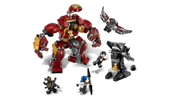 LEGO Marvel Super Heroes 76104 The Hulkbuster Smash-Up