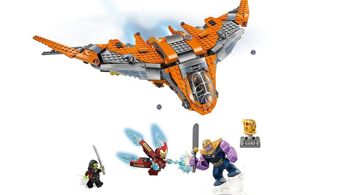 LEGO Marvel Super Heroes 76107 Thanos Ultimate Battle