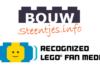 Bouwsteentjes vanaf nu een Recognized LEGO Fan Media