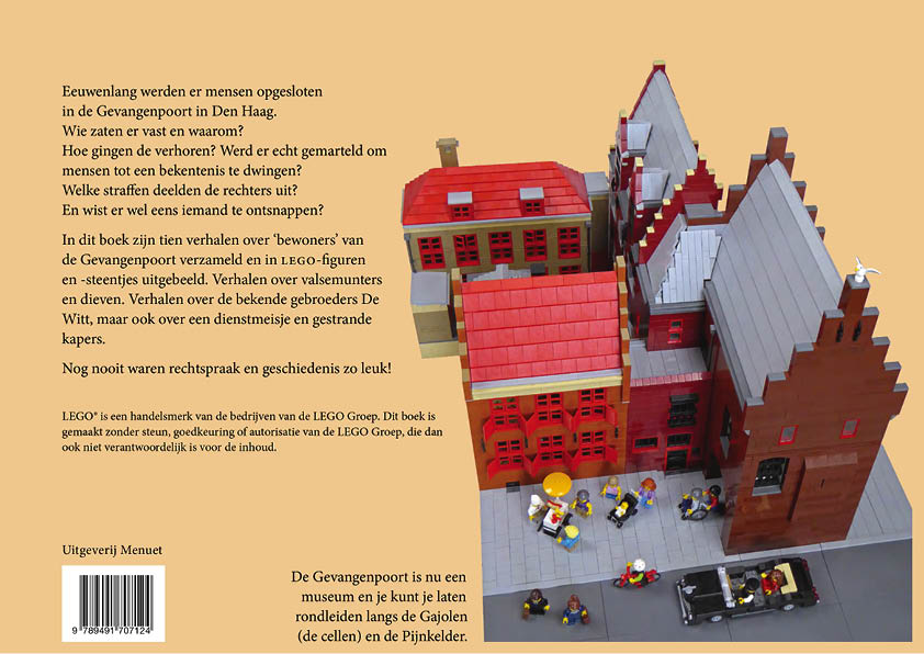 Van kapers tot ketters, LEGO®-verhalen uit de Gevangenpoort