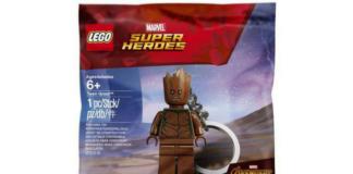 LEGO 5005244 Teen Groot Keychain Polybag