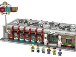 LEGO Ideas Retro Bowling Alley