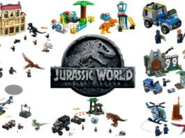 LEGO Jurassic World Fallen Kingdom sets