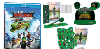Win een LEGO Ninjago Movie met goodie pakket
