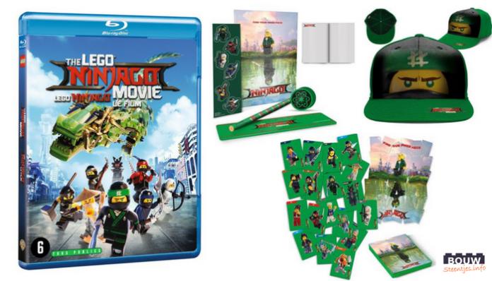 Win een LEGO Ninjago Movie met goodie pakket