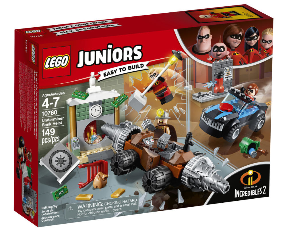 LEGO Juniors 10760 Underminer Bank Heist