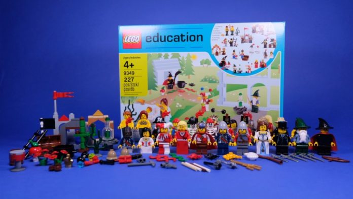 LEGO Education 9349 Fairytale and Historic Minifigure Set