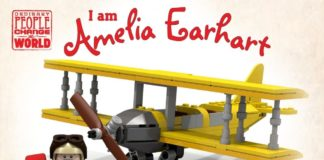 LEGO Ideas I am Amelia Earhart