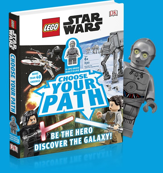 LEGO Star Wars Choose your Path Minifig