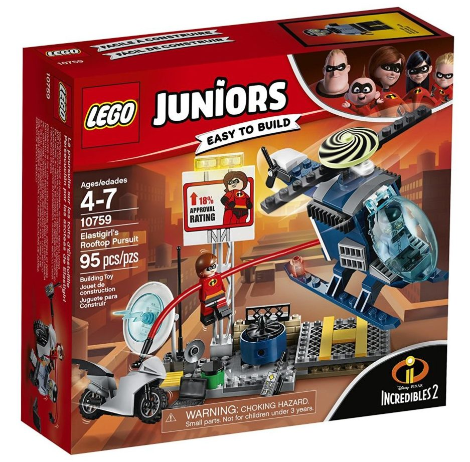 LEGO Juniors 10759 Elestigirl's Rooftop Pursuit