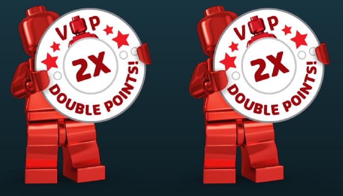 Dubbele LEGO VIP punten maart 2018 - Bouwsteentjes.info