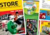 Europese LEGO Store kalender maart-april 2018