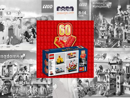 Iconische LEGO kastelen