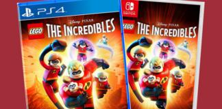 LEGO Incredibles game box-art
