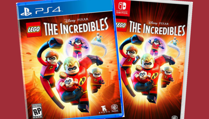 LEGO Incredibles game box-art