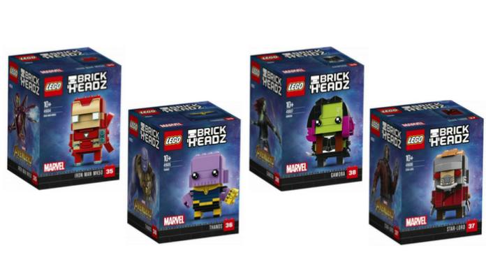 LEGO Marvel Avengers Infinity War BrickHeadz