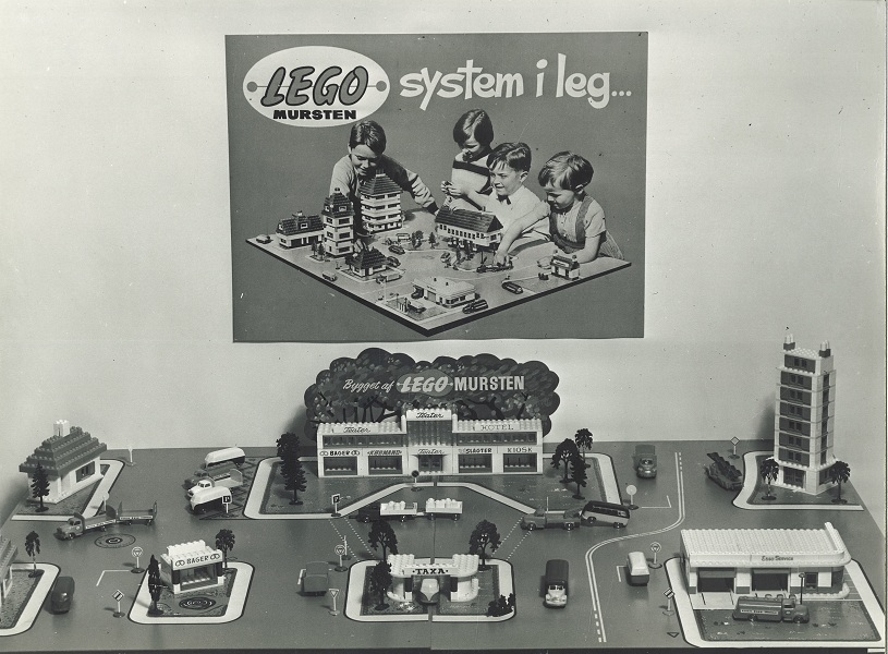 LEGO Mursten System of Play 1955