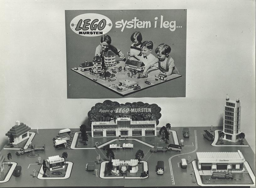 LEGO Mursten System of Play 1955