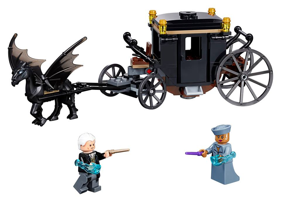 LEGO Fantastic Beasts Grindelwald´s Escape