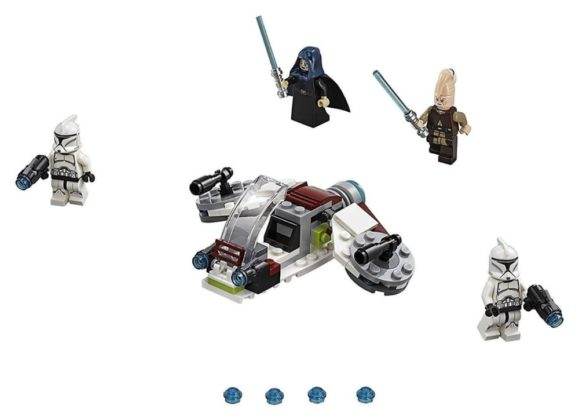 LEGO Star Wars 75206 Jedi and Clone Troopers Battle Pack