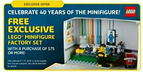 LEGO 5005358 Minifigure Factory Set