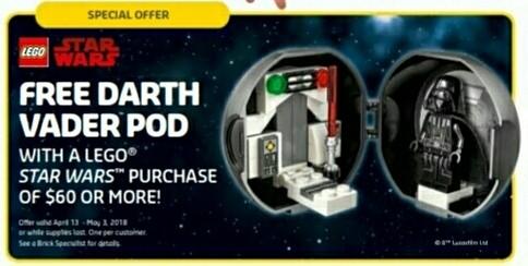 LEGO Star Wars5005376 Dart Vader Pod