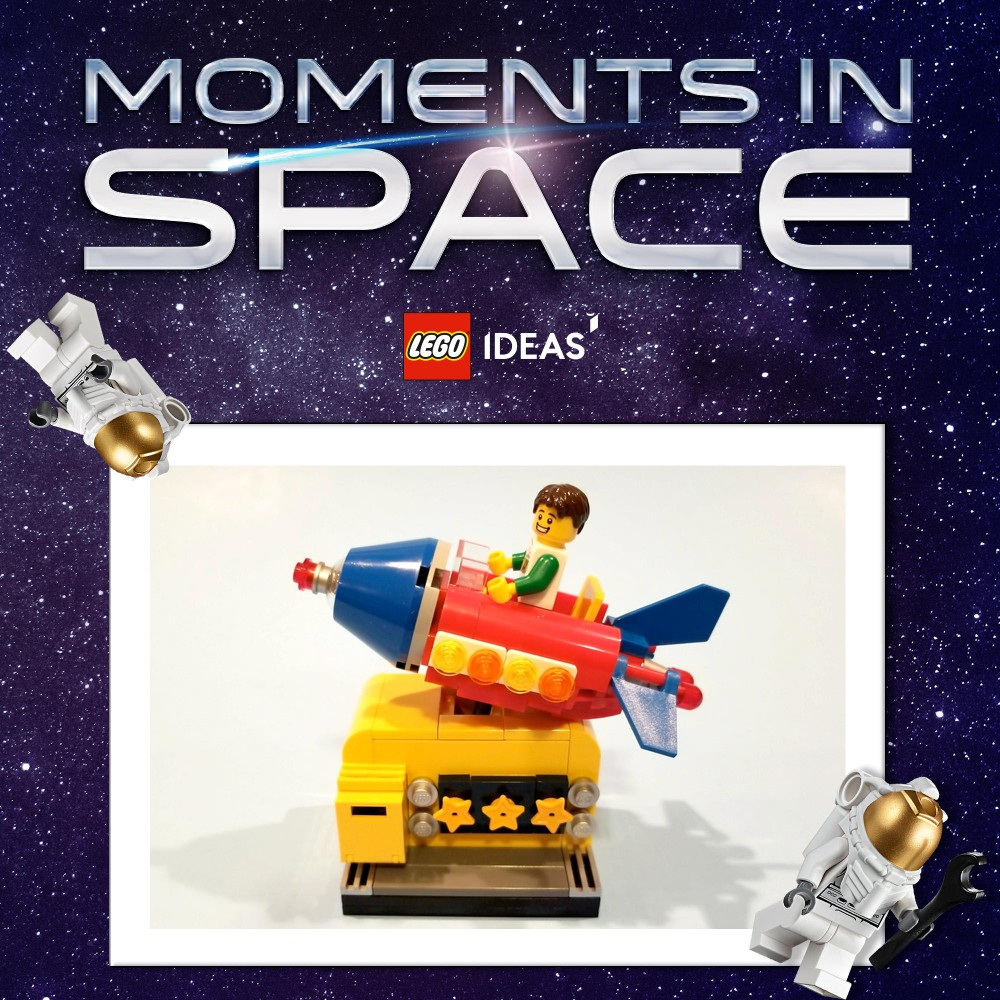 Winnaars LEGO Ideas Moments in Space