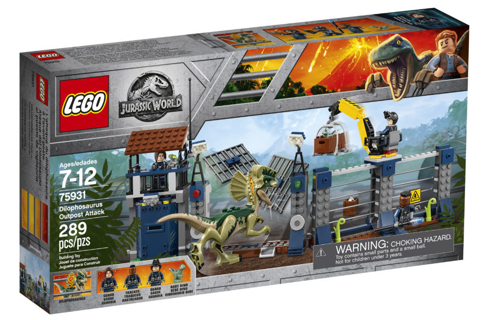 LEGO Jurassic World 75931 Diliphosaurus Outpost Attack