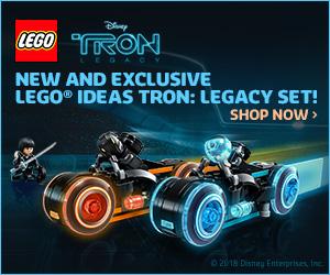 LEGO Ideas 21314 TRON Legacy banner