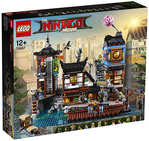 LEGO Ninjago Movie 70657 The Dockyards