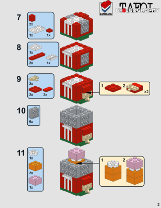 LEGO BrickHeadz Bassie en Adriaan