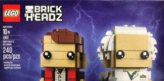 LEGO BrickHeadz 41611 Marty McFly and Doc Brown