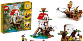 LEGO Creator 31078 Treehouse Treasures