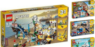 LEGO Creator zomer 2018 sets