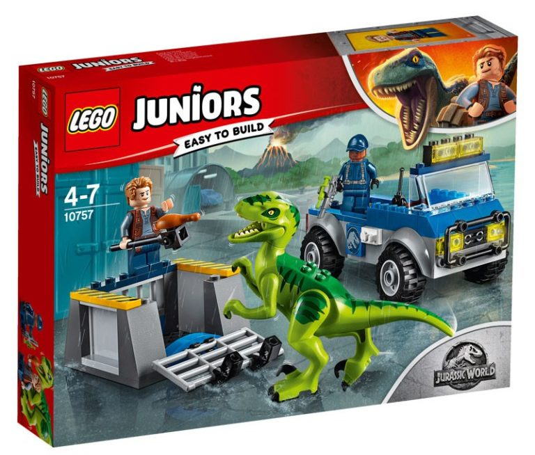 LEGO Juniors 10757 Raptor Rescue Truck