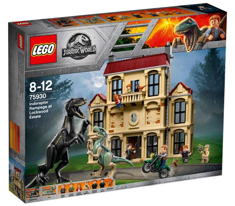 LEGO Jurassic World 75930 Indoraptor Rampage at Lockwood Estate