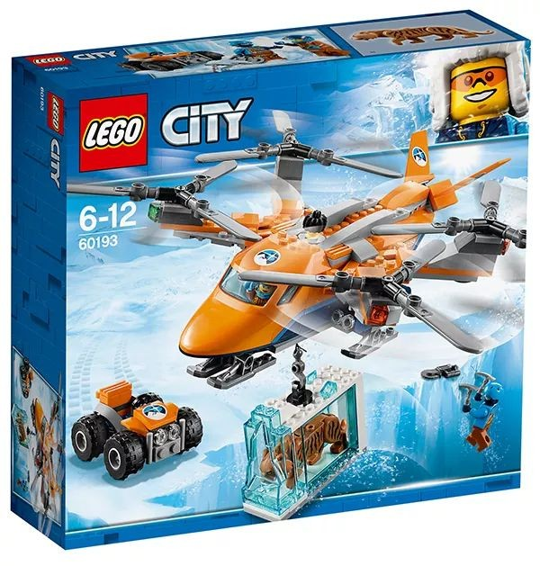 LEGO City 60193 Arctic Air Transport