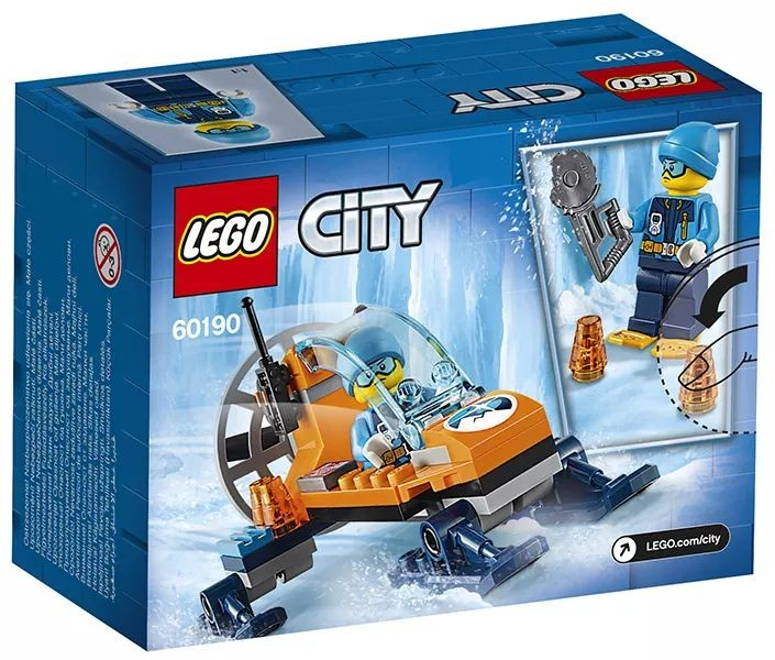 LEGO City 60190 Ice Glider