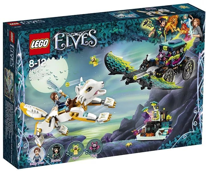 LEGO Elves 41195 Emily & Noctura's Showdown