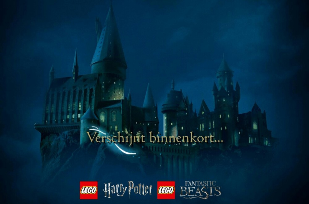 LEGO Wizarding World mini website