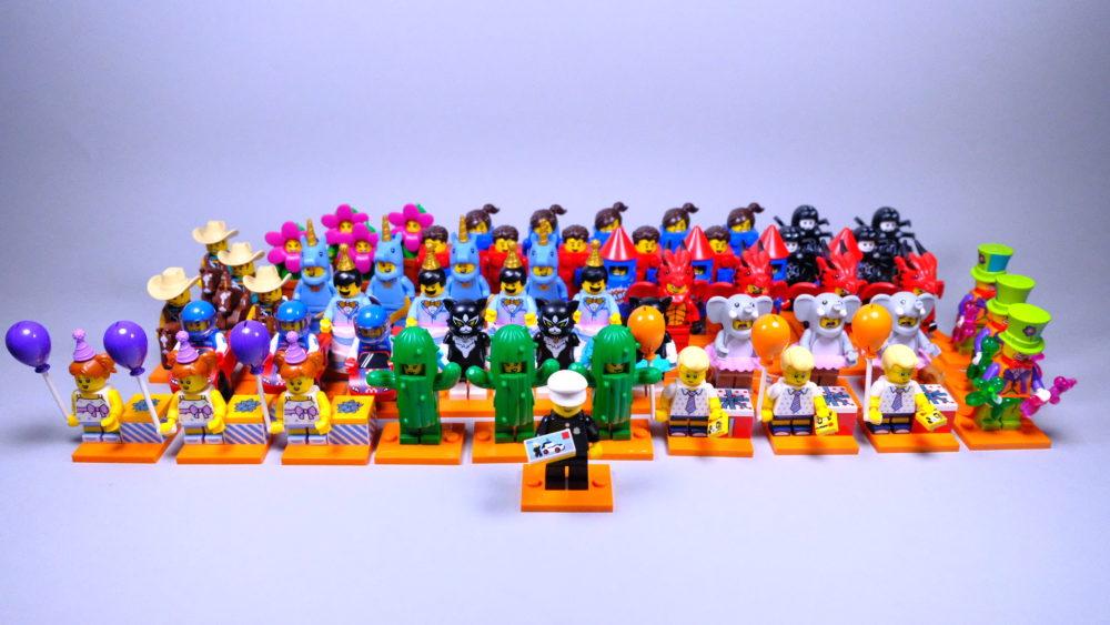 LEGO 71021 Minifigures series 18