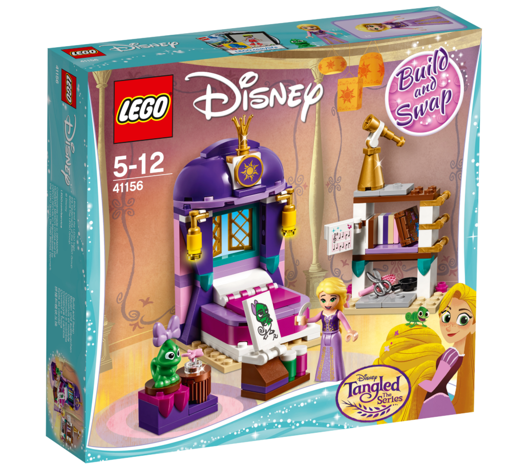 LEGO Disney 41156 Rapunzel's Castle Bedroom