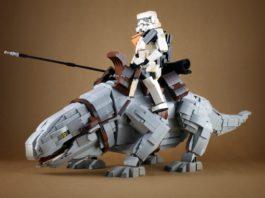 Sandtrooper and Dewback