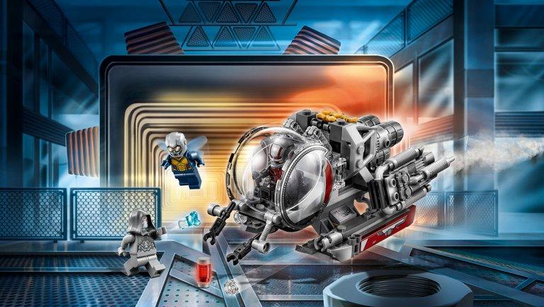 LEGO Marvel 76109 Quantum Realm Explorers