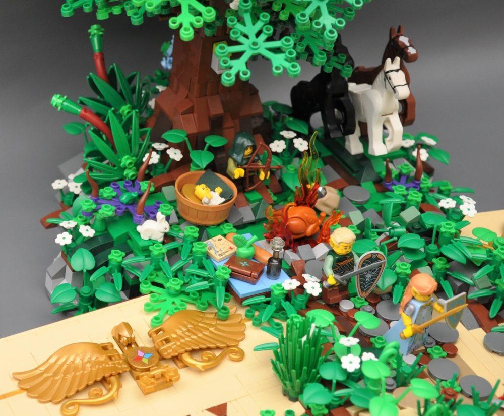 LEGO Ideas Legend of Anendra