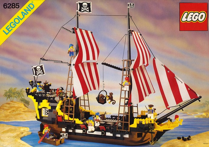 LEGO 6285 Black Seas Barracuda